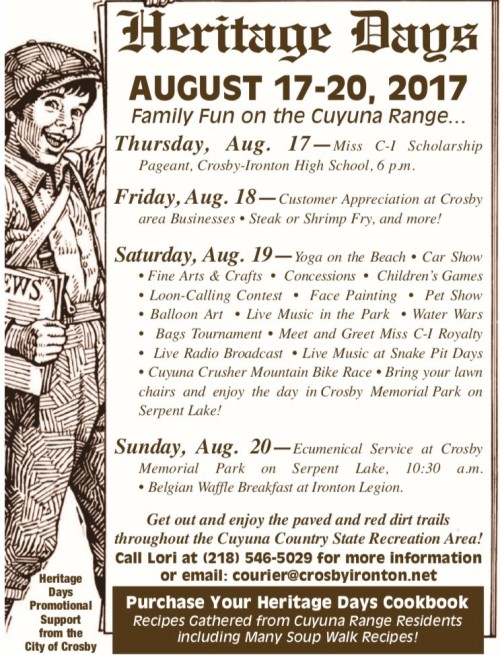 Heritage Days Poster